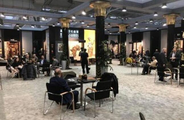 النساجون الشرقيون تشارك بأكبر جناح على مستوى العالم فى معرض دومتيكس بألمانيا