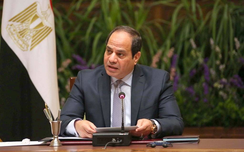 السيسى يتفق مع وزير الاقتصاد الألمانى على جذب مزيد من الاستثمارات إلى مصر