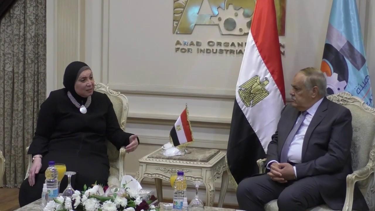 وزيرة الصناعة: نسعى لتعظيم الاستفادة من الامكانات التكنولوجية بالهيئة العربية للتصنيع