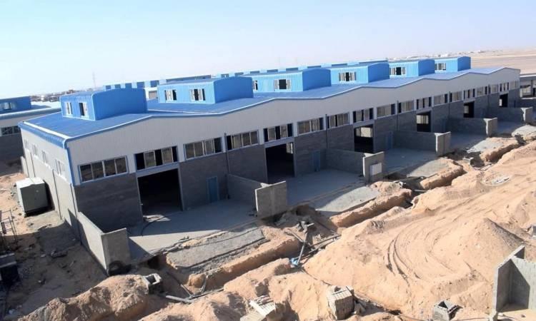 نيفين جامع: استلام عدد من المجمعات الصناعية من الهيئة الهندسية نهاية الشهر الجارى