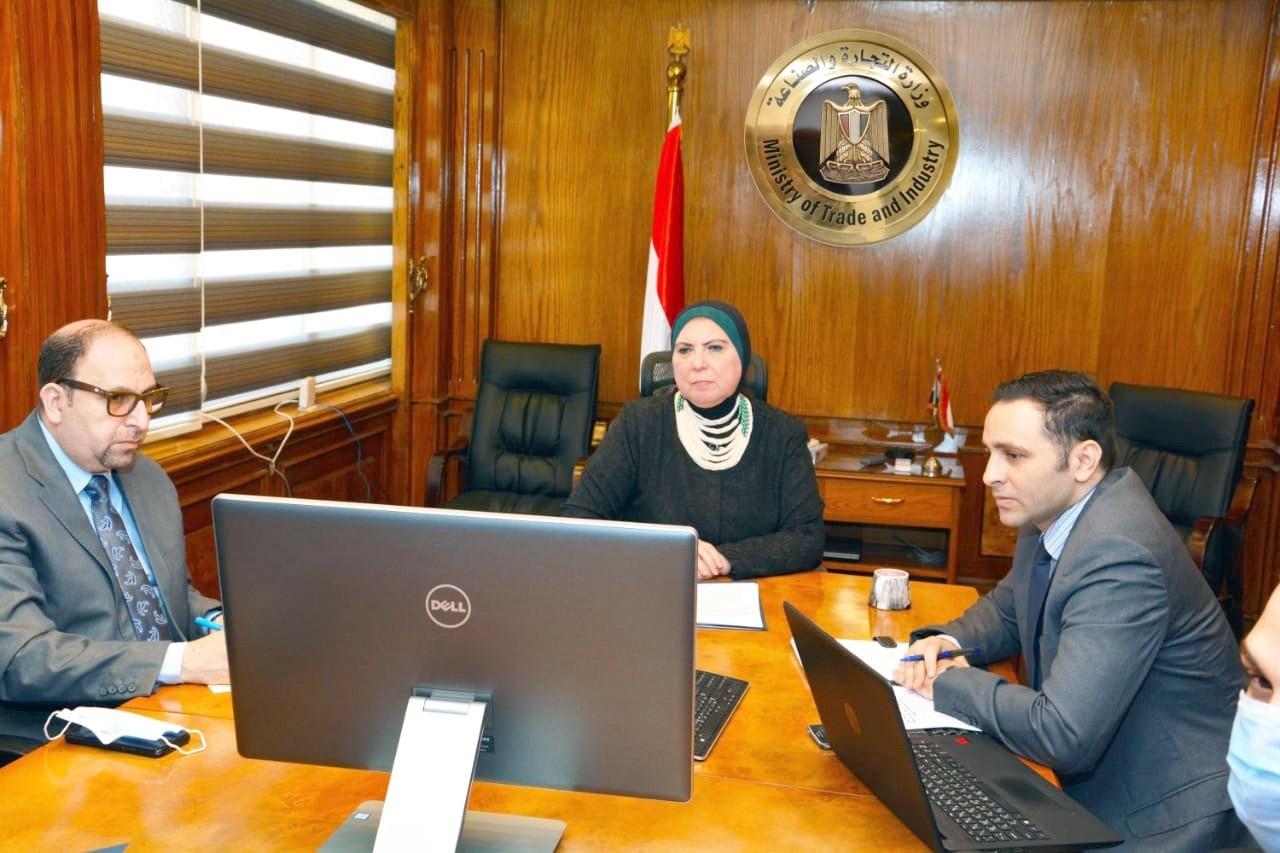 وزيرة التجارة: إنشاء منصة تجارة إليكترونية لتعزيز انسياب التجارة بين مصر وإفريقيا