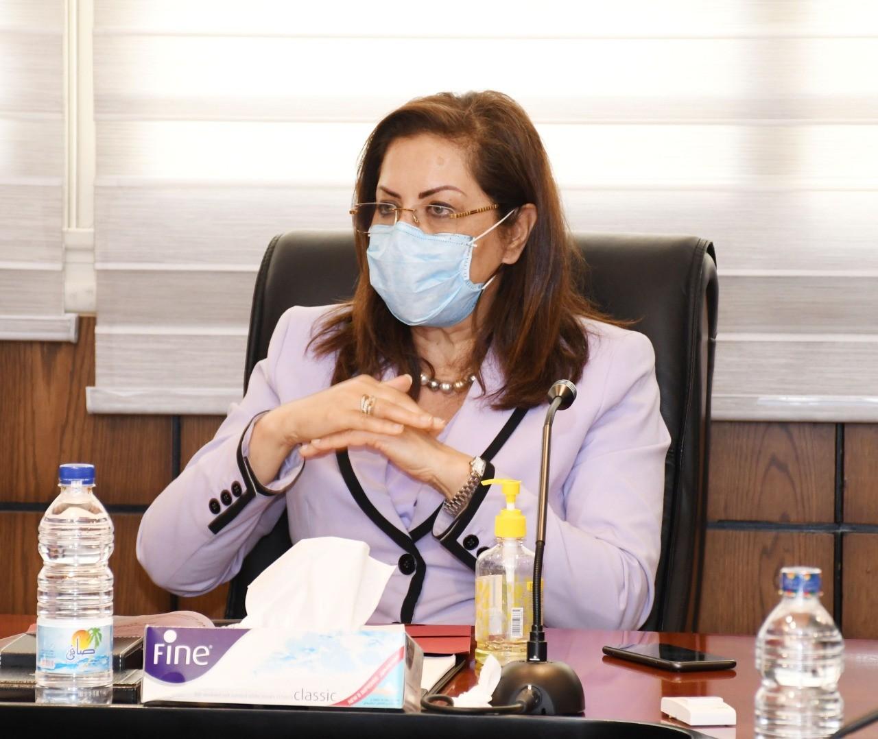 وزيرة التخطيط: حصر الواردات ووضع خطة لتوطينها خلال المرحلة المقبلة