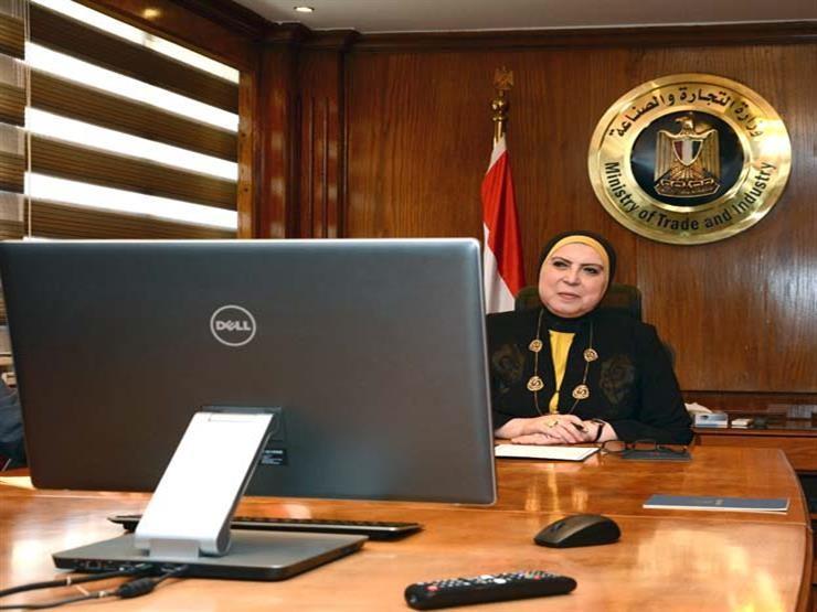وزيرة التجارة: ندرس آلية لمنع استيراد منتجات لها مثيل محلي