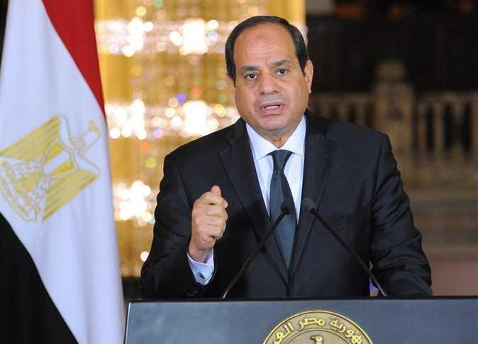 الرئيس السيسي : نأمل في الوصول بقيمة الصادرات لـ 100 مليار دولار خلال 3 سنوات