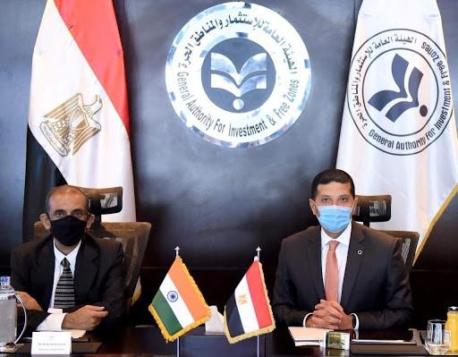 مصر و الهند يبحثان تفعيل وزيادة التعاون الاستثماري بين البلدين