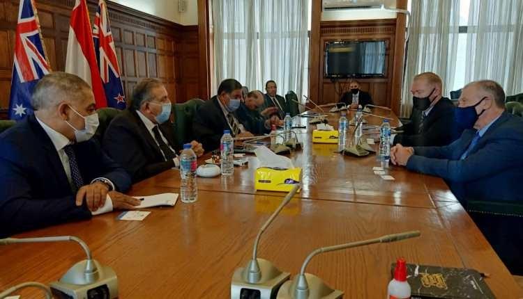 غرفة الإسكندرية تبحث مع سفيري أستراليا ونيوزيلندا سبل تعزيز التعاون خلال الفترة المقبلة