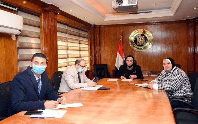 وزيرة الصناعة تؤكد حرص مصر على تنمية العمل العربي المشترك لزيادة معدلات التجارة البينية