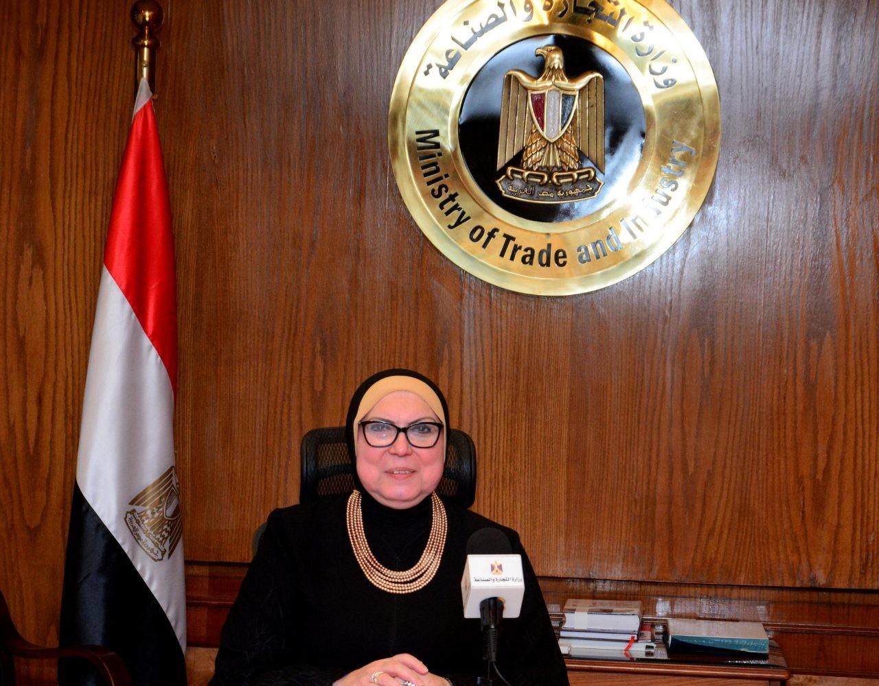 وزيرة التجارة: نسعى لضبط آليات السوق وتحقيق المنفعة المشتركة للشعوب العربية