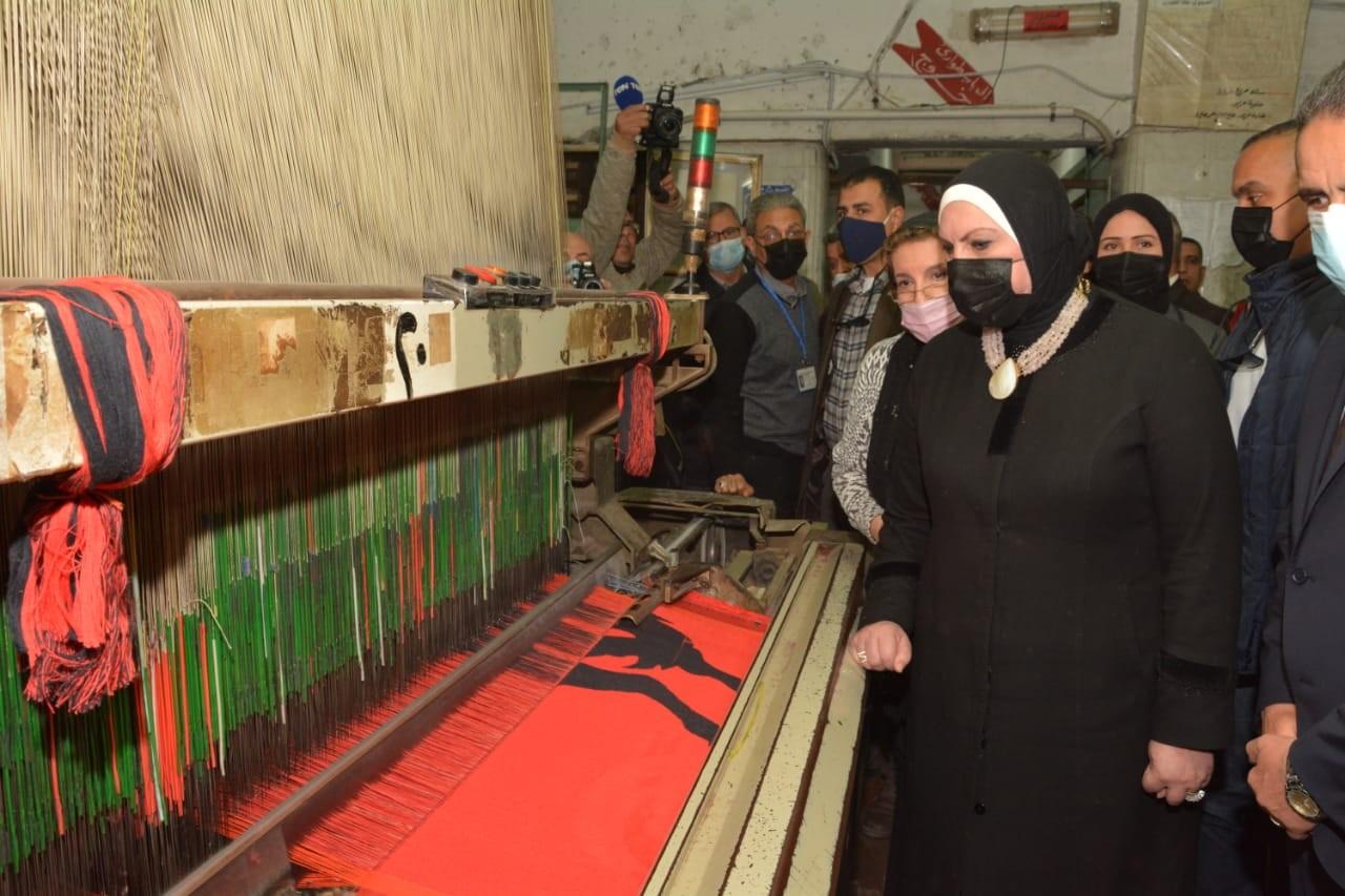2.7 مليار دولار صادرات مصر من الغزل والنسيج والملابس الجاهزة في 2020