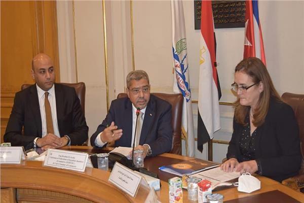 بروتوكول تعاون بين غرفتى القاهرة وهافانا الكوبية لزيادة التبادل التجارى المشترك