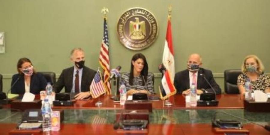 رانيا المشاط تبحث مع مديرة مكتب الوكالة الأمريكية للتنمية موقف المشروعات الجارية
