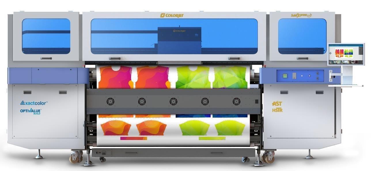 ColorJet Launches SubliXpress Plus – 9000 Sq.Meters